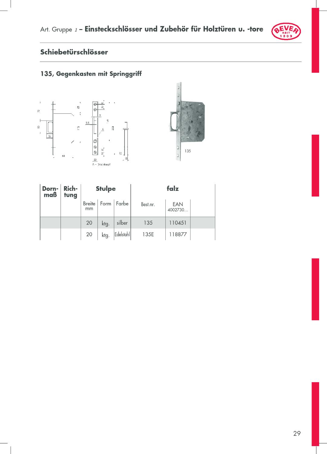 Katalog BEVER Seite 37 Regensburger Eisen Handel GmbH